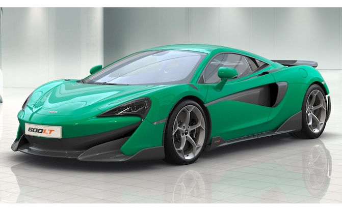 You can now configure your own mclaren 600lt