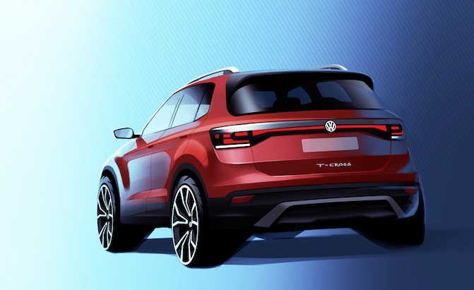 Vw T Cross >> The Vw T Cross Isn T Coming To The Us But It Probably Should