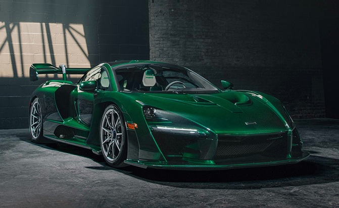 The First Mclaren Senna For North America Has Arrived