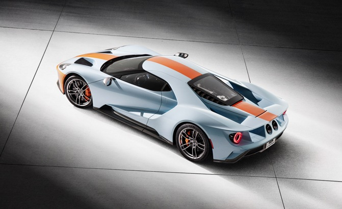Ford Gt Gets An Additional  Unit Production Run