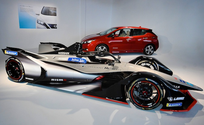 So Why is Nissan Entering Formula E Anyway?