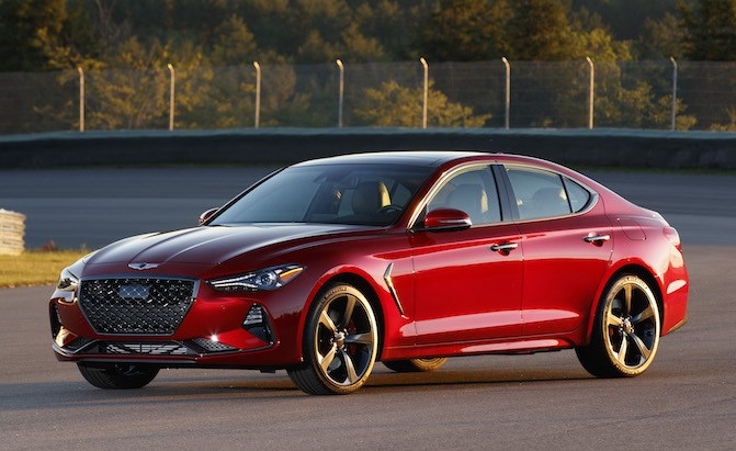 Performance-Spec Genesis G70 Could be on the Way