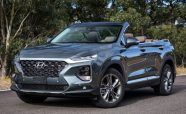 Hyundai Santa Fe Cabriolet: Open Air Motoring For You and Six Others