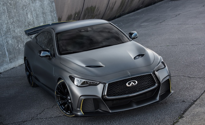 Infiniti Just Put The Dang Project Black S Into Production