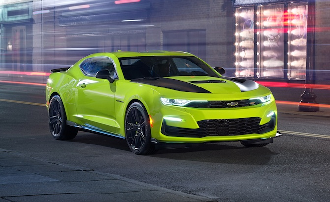2019 Chevrolet Camaro to be Offered in New Shock Yellow Color