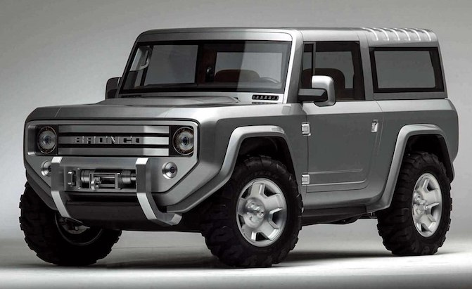Ford Bronco to One-Up Jeep, Get Removable Roll Cage