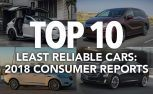 Top 10 Least Reliable Cars: 2018 Consumer Reports