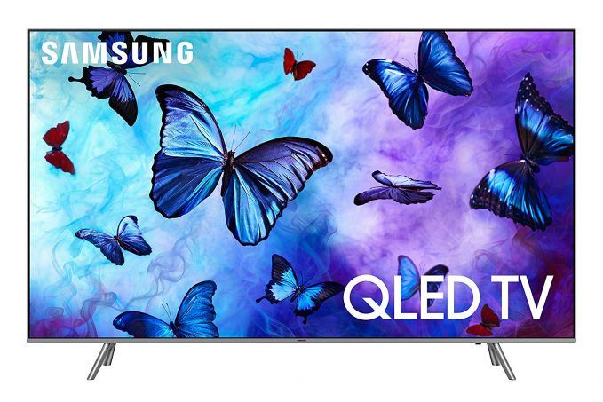 "Samsung QN65Q6F Flat 65"" QLED 4K UHD 6 Series Smart TV 2018 for 41% Off"