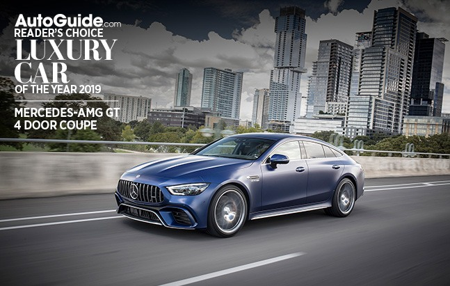 2019 Luxury Car Of The Year: Mercedes-AMG GT 4 Door Coupe Wins AutoGuide.com 2019