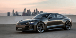 Electric Audi e-tron GT Concept Unveiled with 590 HP