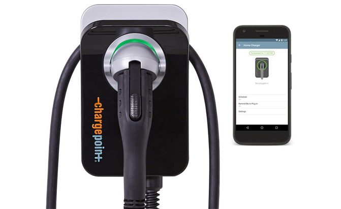 chargepoint home wifi enabled ev charger