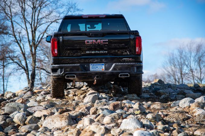 2019 gmc sierra at4 review