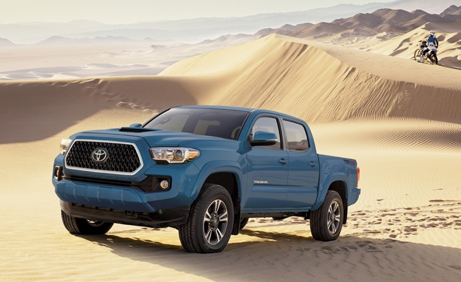Toyota Tacoma is One of America's Best Selling Vehicles