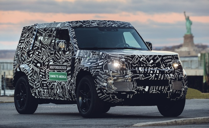 2020 Land Rover Defender Is Bringing Its Boxiness To The Usa