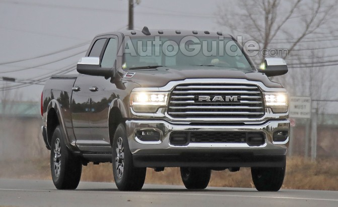 Spied: 2020 Ram HD, a Conservative Alternative to GM Design Experiments » AutoGuide.com News