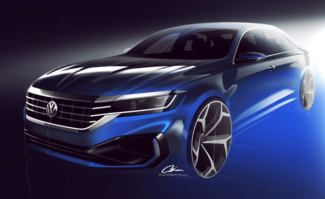 Refreshed 2020 Volkswagen Passat Will Feature New Style, Same Platform
