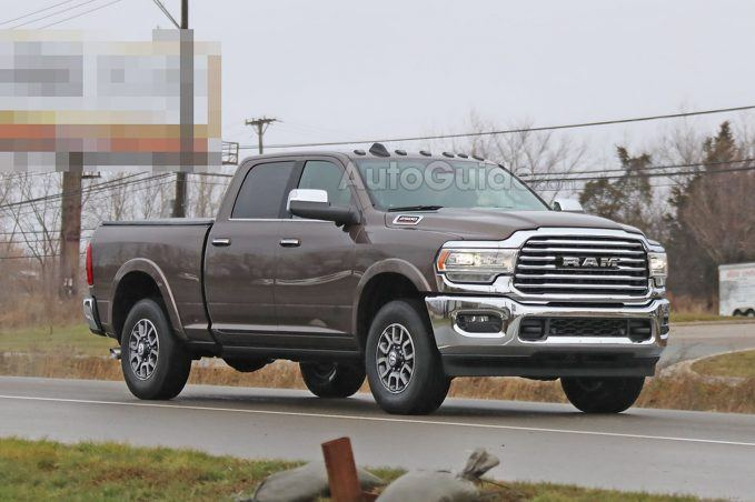 Spied 2020 Ram Hd A Conservative Alternative To Gm Design