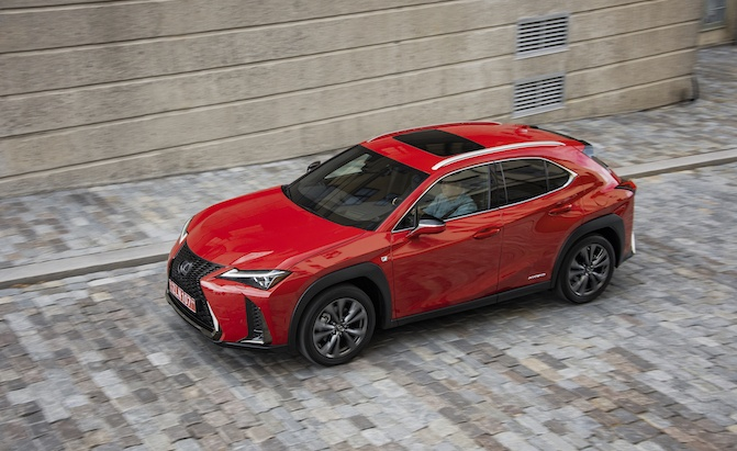 Trademark Filing Could Signal Fully Electric Lexus UX300e