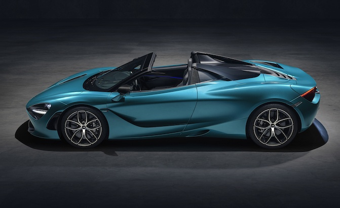 Toyota Suv Used >> McLaren 720S Spider Debuts With A Fancy Retracting Hardtop ...