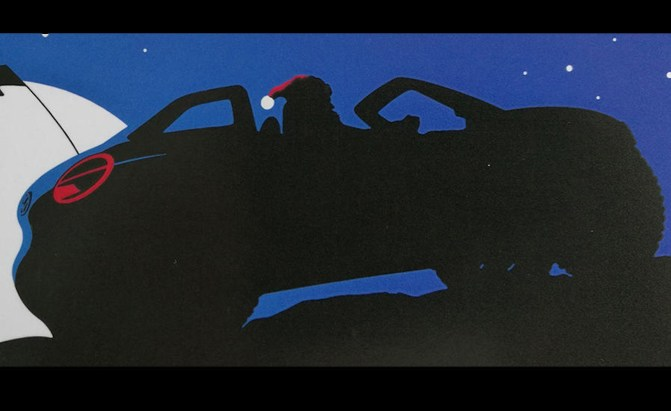Electric VW Buggy Previewed in Christmas Card