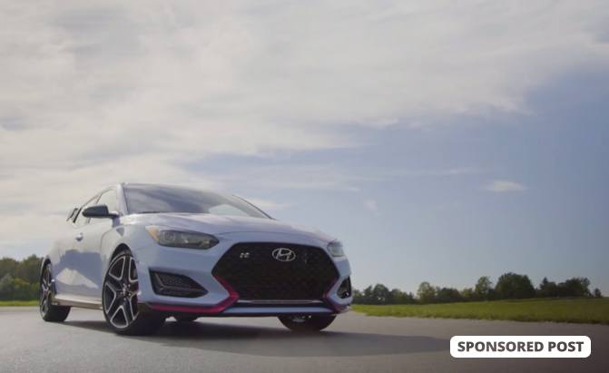 The First-Ever Hyundai Veloster N Drive Experience