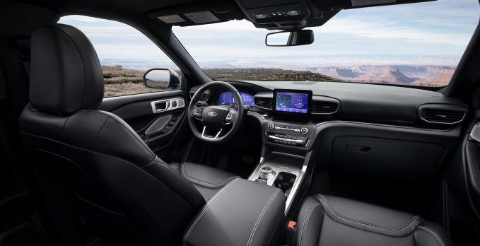 Ford Explorer Interior Dashboard