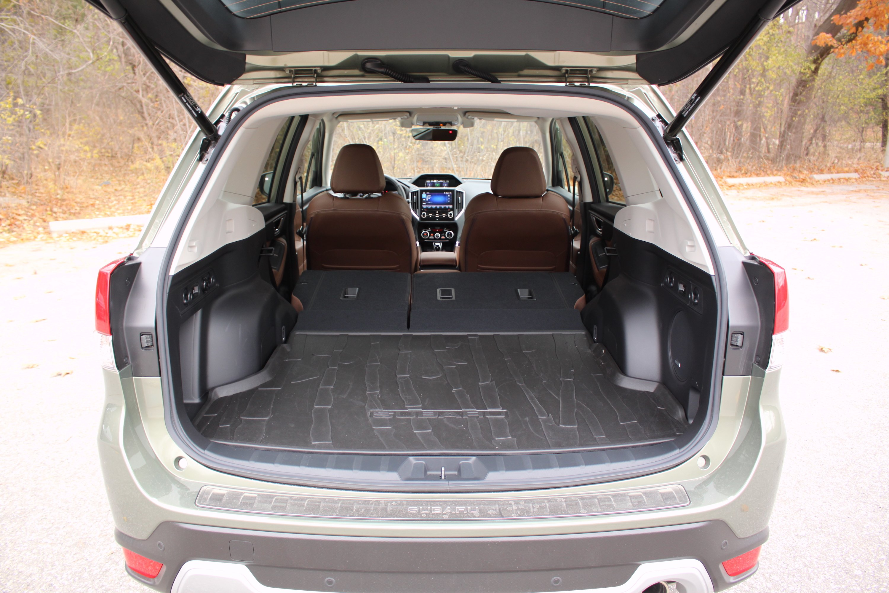 Forester The Is A Ger Vehicle And Boasts Numbers In Every Category But Not By Huge Margin Features 111 9 Cubic Feet Of