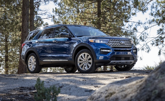 2020 Ford Explorer Arrives With New Platform, Available 365-HP V6