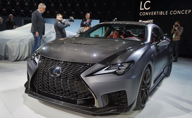 2020 Lexus Rc F Track Edition Is Not An Lfa But At Least