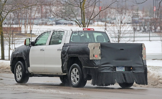 2020 Toyota Tundra spy pictures