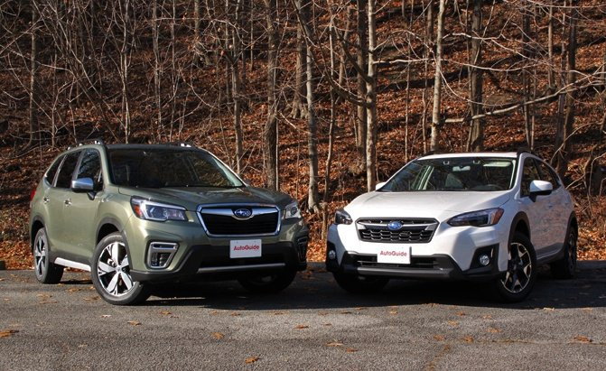 2019 Subaru Crosstrek vs Forester: Which Subaru Crossover ...