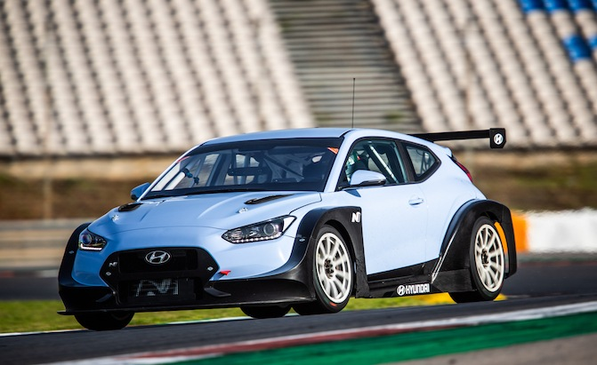 Hyundai Storms Detroit with Wild 350-HP Veloster N Race Car, Elantra GT N Line