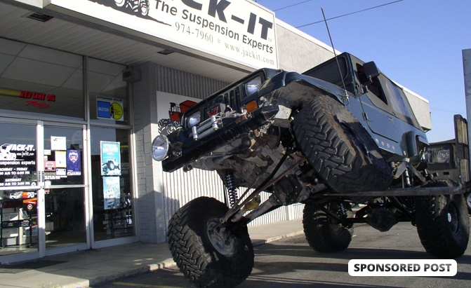Do You Even Lift? How Jack-It Is More Than Just an Online Suspension Parts Store