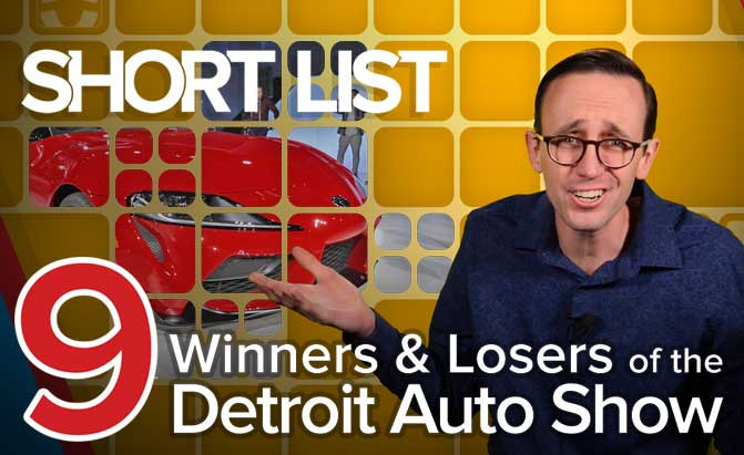 2019 Detroit Auto Show Winners and Losers – The Short List