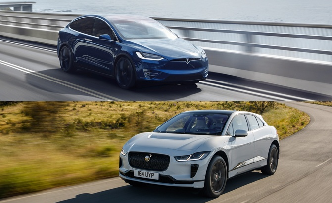 Jaguar I Pace Vs Tesla Model X Which Ev Is Right For You