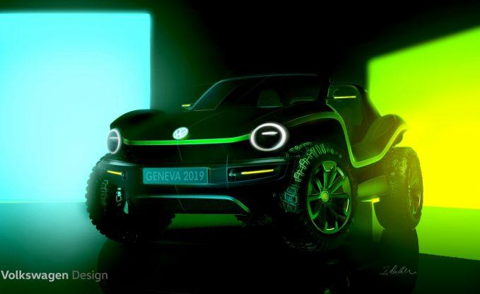 Volkswagen to Debut Electric Dune-Buggy Concept