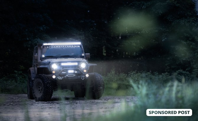 Win 5 000 In Free Upgrades For Your Jeep Wrangler From Raxiom And Extremeterrain Com Autoguide Com News