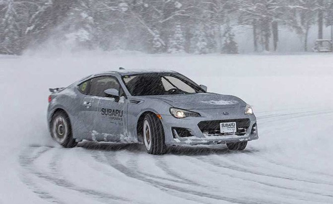 Learn to Drive on Ice and Snow with the Subaru Winter Experience