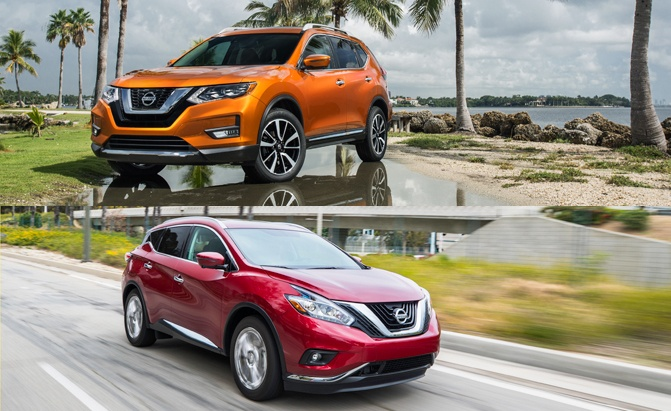 Nissan Rogue Accessories >> Nissan Rogue vs Murano: Which SUV is Right for You ...