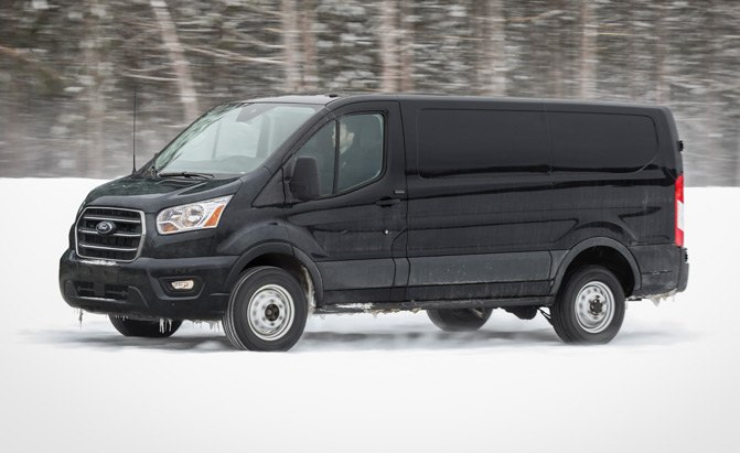 Ford Edge Vs Ford Escape >> 2020 Ford Transit Van Can Get a 4-Cylinder Diesel or All ...