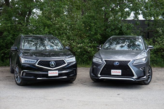 Lexus Rx Vs Acura Mdx >> Acura Mdx Vs Lexus Rx Luxury Crossover Comparison