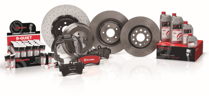 Brembo brakes after market product range