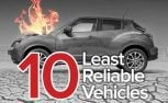 Top 10 Most Unreliable Cars – The Short List