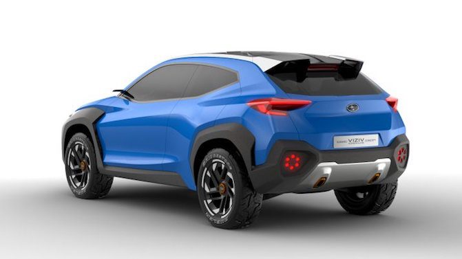 It S Not Clear If The Subaru Viziv Adrenaline Concept Will Directly A Production Model Although Its Influence Likely Be Found In Future