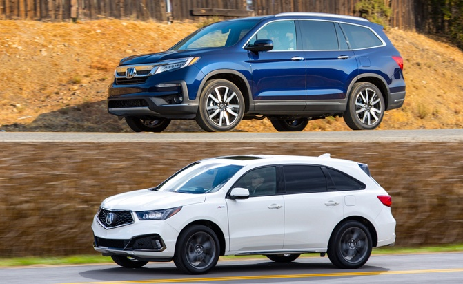 Mdx Vs Pilot >> Honda Pilot Vs Acura Mdx Which Suv Is Right For You Autoguide Com