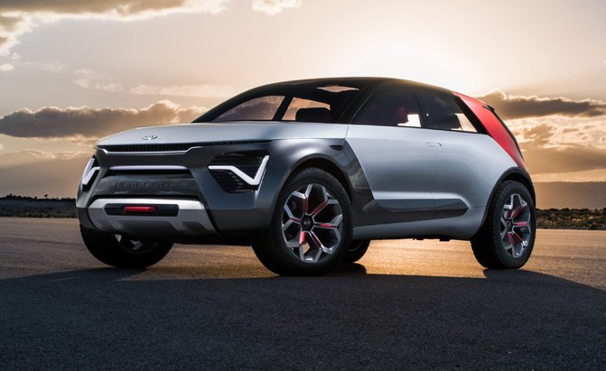 Kia Unveils All-Electric, Self-Driving Concept Car With Punny Name