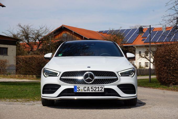 2020 Mercedes CLA-front