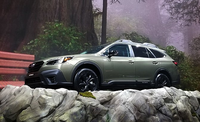 2020 subaru outback debuts with turbo engine and huge
