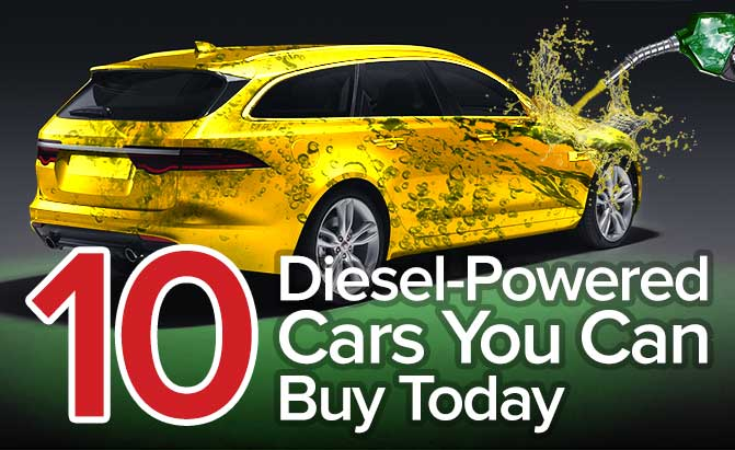 Top 10 Diesel-Powered Cars You Can Buy