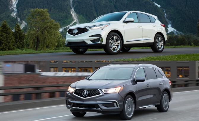 Acura Rdx Vs Mdx >> Acura Rdx Vs Mdx How Are The Crossovers Different Which One Is